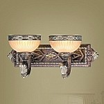 Seville Collection Palacial Bronze Finish Wall Sconce- 8532-64