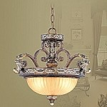 Seville Collection Palacial Bronze Finish Pendant- 8544-64