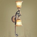 Villa Verona Collection Verona Bronze Finish Wall Sconce – 8572-63