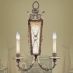 Bristol Manor Collection Palacial Bronze Finish Wall Sconce- 8822-64