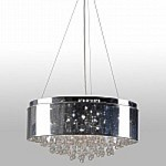 Juniper 6 Light Chrome Pendant - B-KR212A