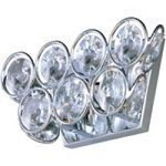 "Brilliant Collection 2-Light 10"" Crystal Wall Sconce E24007-20PC"