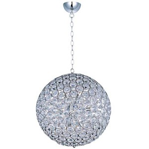 "Brilliant Collection 12-Light 24"" Round Crystal Pendant E24017-20PC"
