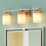 "Hendrik Collection 3-Light 24"" Brushed Nickel Bathbar with Satin Etched Cased Opal Glass 5078NI"