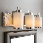 Cashelmara Design 3-Light 25'' Natural Mosaic Shell Bath Light 3243-77