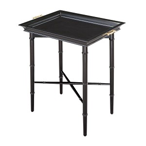 Piccadilly Collection Ebony Tray Table 6042198