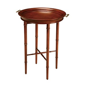 Bamboo Collection Cherry Tray Table 6042201