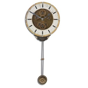 Leonardo Collection Mini Cream Wall Clock 06008