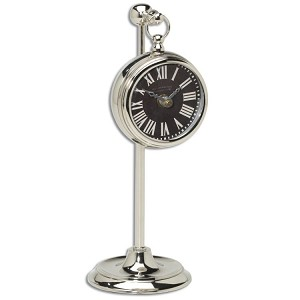 Pocket Watch Collection Nickel Marchant Black 06071
