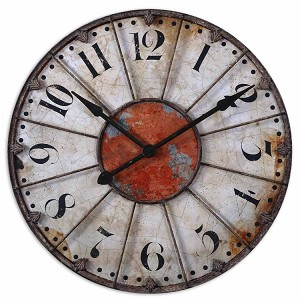 "Ellsworth Collection 29"" Wall Clock 06664"