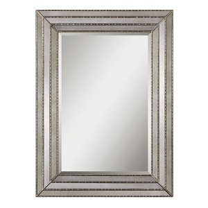 Seymour Collection Antique Silver Mirror 14465