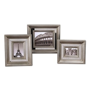 Hasana Collection Antique Silver Photo Frame (Set of 3) 18519