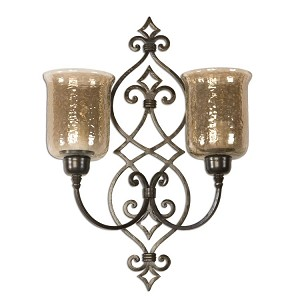 Sorel Collection Metal Double Wall Sconce 19564