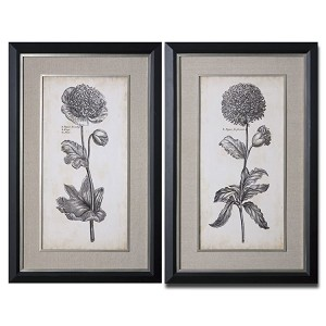 Singular Beauty Collection Floral Art (Set of 2) 41362