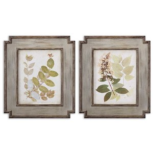 Natures Collage Collection Floral Art (Set of 2) 51069