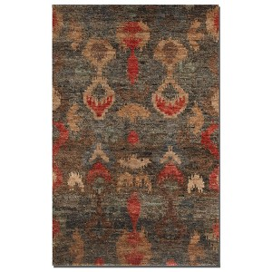 Java Collection 8' x 10' Charcoal Jute Rug 70006-8