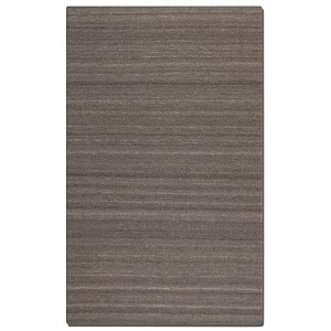 Wellington Collection 5' x 8' Gray/Taupe Wool Rug 71005-5