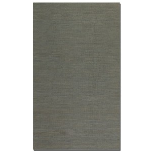 Aruba Collection 5' x 8' Gray Jute Rug 71011-5