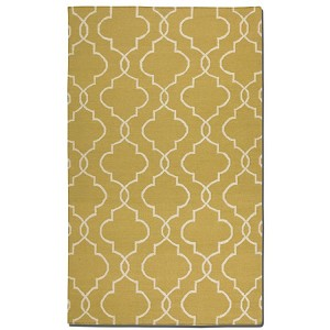 Devonshire Collection 8' x 10' Gold Wool Rug 71023-8