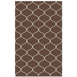 Hamilton Collection 8' x 10' Chocolate Wool Rug 71033-8
