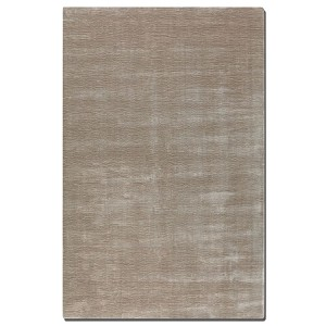 Danube Collection 5' x 8' Beige/Champagne/Gray Viscose Rug 73018-5