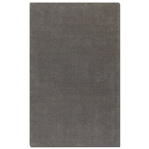 Cambridge Collection 8' x 10' Gray Wool & Viscose Rug 73028-8
