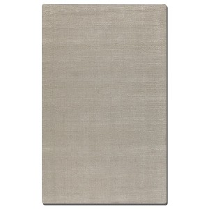 Rhine Collection 8' x 10' White Wool & Viscose Rug 73039-8