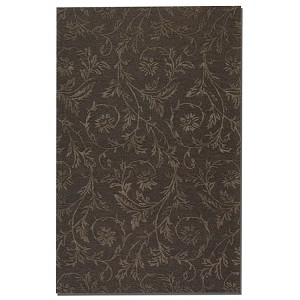 Licata Collection 5' x 8' Chocolate Wool & Viscose Rug 73043-5