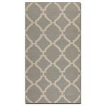 Bermuda Collection 9' x 12' Gray Wool Rug 71014-9