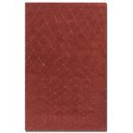 Casablanca Collection 9' x 12' Red Wool Rug 73003-9