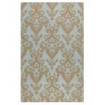 Toulouse Collection 5' x 8' Blue/Gray Wool Rug 73007-5