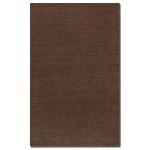 Barton Collection 5' x 8' Chocolate Wool Rug 73010-5