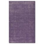 Zell Collection 8' x 10' Purple Wool Rug 73020-8