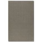 Cambridge Collection 5' x 8' Gray Wool & Viscose Rug 73027-5