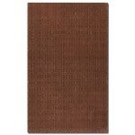 Cambridge Collection 5' x 8' Red Wool & Viscose Rug 73029-5