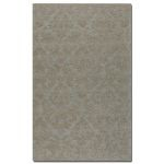 St. Petersburg Collection 5' x 8' Blue/Gray Wool & Viscose Rug 73032-5