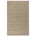 Paris Collection 5' x 8' Brown Wool & Viscose Rug 73034-5