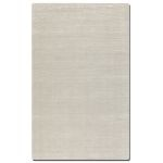 Rhine Collection 5' x 8' Gray/Silver Wool & Viscose Rug 73036-5