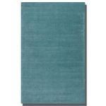 Rhine Collection 5' x 8' Blue Wool & Viscose Rug 73037-5