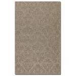 St. Petersburg Collection 8' x 10' Gray Wool & Viscose Rug 73045-8