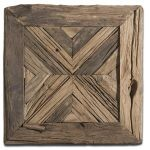 "Uttermost Rennick Rustic Pine Wood 21"" Wide Wall Art 04014"