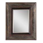 Bovara Collection Rustic Bronze Mirror 07043