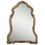 Agustin Collection Light Walnut Mirror 07632