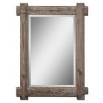 Claudio Collection Wood Mirror 07635