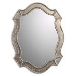 Felicie Collection Oval Gold Mirror 08026B