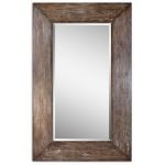 Langford Collection Large Wood Mirror 09505
