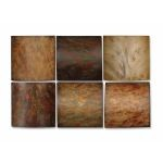Set of 6 Earth Tone Klum Wall Art Collage 13355