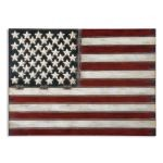 American Flag Metal Wall Art 13480