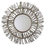 Uttermost Josiah Collection Woven Birch Branch Wooden Mirror 13705
