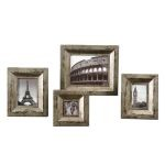 Camber Collection Rustic Photo Frames, (Set of 4) 18516